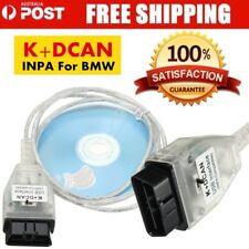 For BMW INPA K+DCAN USB Interface OBD2 OBDII 16Pin Diagnostic Tool Cable HP