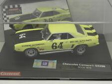 Carrera 25712 Evolution slot car Chevrolet Camaro ss396 SCCA 1973 No. 64 M .1: 32