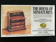 X-Acto House of Miniatures #40042 * Chippendale Slant Front Desk * 1750 * Sealed