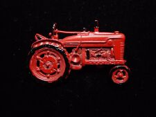 """Jj"" Jonette Jewelry Pewter 'Red Tractor ~ Farming Equipment' Pin #2"