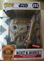 "Funko POP! Movies: Star Wars  - 10"" Wicket W. Warrick Target  293"