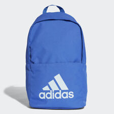 Adidas Classic Backpack Rucksack Work Travel Gym School Bag - CG0517 - Blue