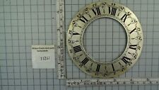 DIAL CHAPTER RING SUITABLE FOR SALLANDSE CLOCK WARMINK WITH SCREWS