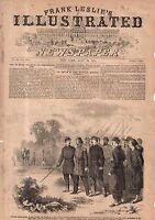 1861 Leslie's - July 20- Major Taylor escorted back to Rebel lines after failure