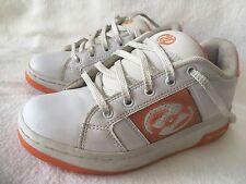 Heelys Galaxy Skate Shoes U.S Girls 4 Boys 3 UK 2 Orange White #9142