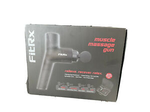 Tzumi FitRx Portable Muscle Massage Gun with Carrying Case