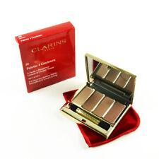 Clarins 4 Colour Wet & Dry Eyeshadow Palette #03 Brown - Size 6.9 g / 0.2 Oz.