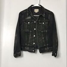 Polo Ralph Lauren Kid's Black Distressed Jacket M Preowned