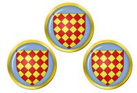 Angoumois France Marqueurs de Balles de Golf