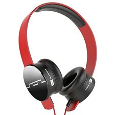 Sol Republic Tracks V8 On Ear Headphones with V8 Sound Engine - Red
