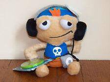 "Poptropica Cool Boy 8"" Plush Stuffed Doll Toy w/ Radio & Webcode **NEW W/ TAGS**"