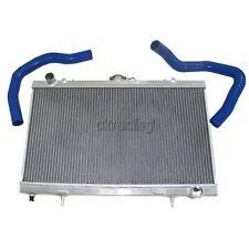 CX Aluminum Radiator + Silicon Hoses For 89-94 240SX S13 SR20DET SR20 MT