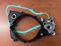1988-1989 Honda CR250R Right Crankcase Cover W/Cover Gasket 11340-KS7-831 OEM