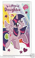 "MY LITTLE PONY ""MAGICAL DAUGHTER"" BIRTHDAY CARD**FREE 1ST CLASS P&P**"