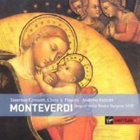 PARROTT/TAVERNER CONSORT & PLA - MARIENVESPER CLAUDIO MONTEVERDI 2 CD NEU