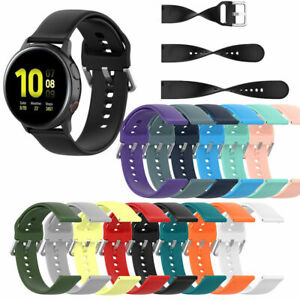 For Samsung Galaxy/Huawei/Timex Watch Band Wrist Strap Silicone Replacement 20mm