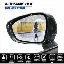 2x HD Car Anti Water Mist Anti Fog Rainproof Rearview Mirror Protective Film Set