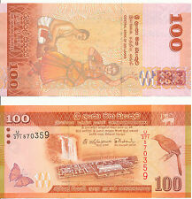 Sri Lanka - 100 Rupees 2015 UNC - Pick 125b