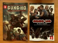 GUNG HO #1 Main Cover + Ngu Variant Ablaze Comics 2019 NM