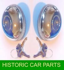 LOCKING PETROL CAPS & Keys for MORRIS MINI COOPER S 1963-66