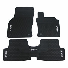 Latex Rubber Car Floor Mats Tailored Made VW Volkswagen Golf MK7/7.5 2013 - 2019