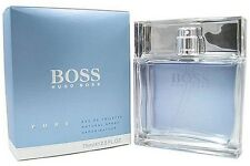 BOSS PURE by Hugo Cologne edt for Men 2.5 oz NEW in Retail BOX