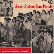 7inch SWEET SIXTEEN	song parade	EP HOLLAND EX-EX   (S3122)