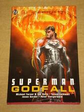 SUPERMAN GODFALL DC COMICS MICHAEL TURNER HARDBACK GRAPHIC NOVEL< 9781401203760