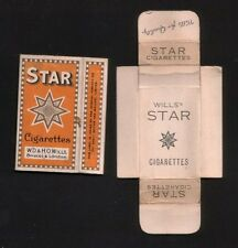 Old empty British cigarette packet #514