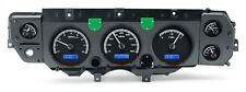 1970 - 1972 Chevelle SS Dakota Digital Black Alloy & Blue VHX Analog Gauge Kit