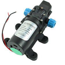 12V DC 5L/min 60W Micro Car Diaphragm High Pressure Water Pump H8O0