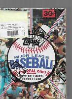 1981 TOPPS MLB Baseball Unopened Sealed HOBBY Trading Card BOX 36 Wax PACKS BBCE
