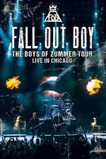 FALL OUT BOY - BOYS OF ZUMMER: LIVE IN CHICAGO   DVD NEW+