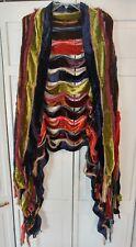 ETRO Multi Colored Velvet Pieces Wrap, Stunning