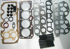 FORD FIESTA ESCORT 1.6 RS TURBO HEAD GASKET SET AND BOLTS CVH 8V