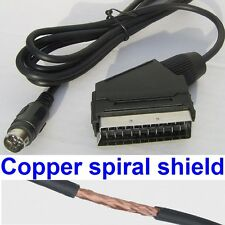 RGB Scart AV Lead for Sega Saturn - Stereo Sound - Quality Shielded Cable  *NEW*