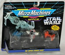 Star Wars Micro Machines Empire Strikes Back Tie Bomber Slave I Cloud Car 1994