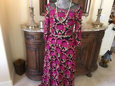 Marchesa Notte designer gorgeous floral roses embroidered dress Size 2 NWT
