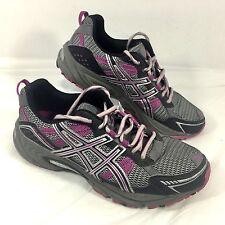 Women's Asics Gel- Venture 4 Running Shoes Purple Gray Sz 9 GUC