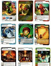 Lot of 9 Lego Ninjago Cards 2012 Lasha Whirlwind Boomerang Armory and more
