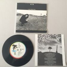 U2 One Tree Hill + 2 *MEGARARE AUSTRALIA (N.Z.) 3Track EP*K338*with Insert*