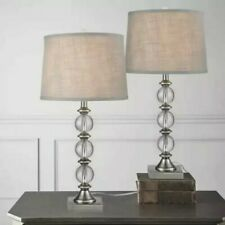NEW Bridgeport Designs Crystal Table Lamps Set of 2