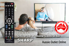 SHARP Universal Smart TV Remote Control No Programming Needed - Aussie Outlet