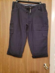 Women's Crop Pants-Eddie Bauer-NWT-Size-16