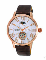 Mens 20 Jewel Automatic Moon Phase Watch AK2269-20-RGWT