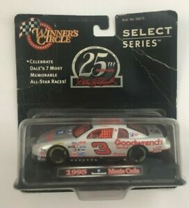 Winners Circle Dale Earnhardt #1 of 7 Select Series /Goodwrench/1995 Monte Carlo