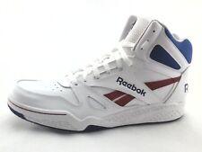 REEBOK ROYAL FLAG Retro White Blue Red Basketball Shoes Men's US 12 EU 45.5 RARE