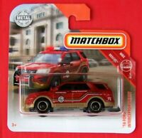 MATCHBOX 2019   ´16 FORD INTERCEPTOR UTILITY   42 /100   NEU&OVP
