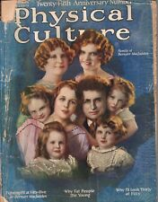 1923 Physical Culture November - We are better women; Why fat people die young