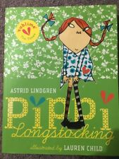 Illustrated Pippi Long Stocking - Astrid  Lindgren Excellent As New Condition